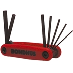 Bondhus Gorilla Grip Folding Hex Key Set 1.5-6mm
