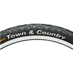 Continental Town and Country Tire - Clincher, Wire, Black, 84tpi