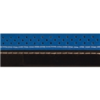 Serfas 2 Tone Stitched Bar Tape Blue