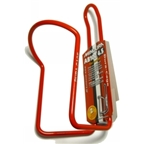 Minoura Aluminum Water Bottle Cage - Red