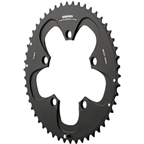 SRAM Red/Force 52T 110mm Black Chainring, Not Compatible with Hidden Bolt Crank Arm