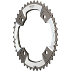 TruVativ XX 39T x 120mm bcd C-pin Chainring fits 166mm Q factor GXP cranks and 2x10 Cannondale MTB Cranks