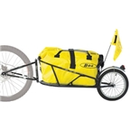 BOB Yak Plus 28 Trailer with DrySak, Black
