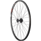 """Quality Wheels Value Double Wall Series Disc Front Front Wheel - 26"""", QR x 100mm, 6-Bolt, Black, Clincher"""