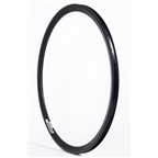 Velocity Chukker 700c 36h Black Non-Machined Sidewall
