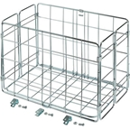 Wald 582 Folding Basket: Silver