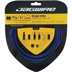 Jagwire Road Pro Complete Brake & Derailleur DIY Kit SID Blue