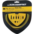Jagwire Road Pro Complete Brake & Derailleur DIY Kit Yellow