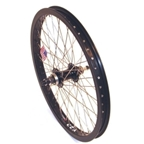 "Alex Y22 48H Alloy 14mm 20 x 1.75-1.95"" Black Rear Wheel"
