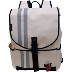 Banjo Brothers Commuter Backpack: LG; White