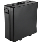 S and S Butterfly Latch Travel / Shipping Case: Black