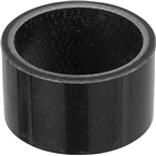 "Wheels Manufacturing 40mm x 1-1/8"" Unidirectional Carbon Headset Spacer, Each"