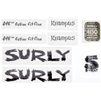 Surly Krampus Frame Decal Set with Headbadge