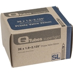 "Q-Tubes 26 x 1.9-2.125"" Superlight 32 mm Presta Valve Tube"