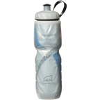 Polar Insulated Water Bottle 24 oz. White/Blue
