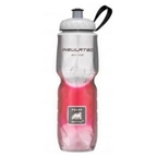 Polar Insulated Water Bottle 24 oz. Fade Pattern Red