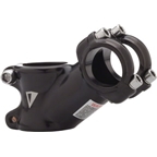 "Dimension Threadless Road Stem: 75mm; 125 Degree; Black; 1-1/8""; 26.0"