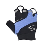 Serfas Men's Zen Short Finger Gloves - Blue - XX-Large