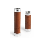 Brooks Slender Leather Grips 130mm and 100mm - Honey