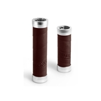 Brooks Slender Leather Grips 130mm and 100mm - Brown