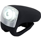Knog Boomer 1 Watt White LED Headlight - Black Body