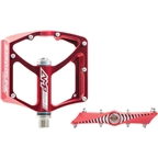 "Straitline AMP Pedal 9/16"" Red"