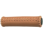 Dimension Hand-Stitched Leather Grips - Brown
