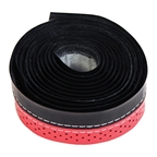 Serfas 2 Tone Stitched Bar Tape Red
