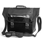 Ortlieb Downtown Bike Briefcase with QL3 Mounting; Black-White