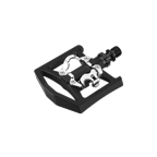Exustar PM819 SPD Aluminum 1-Sided Clipless Pedal - Black