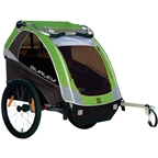 Burley D'Lite Child Trailer Green 2015 Model