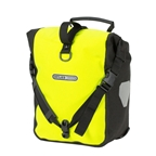 Ortlieb Sport-Roller High Visibility (pair) Neon Yellow-Black Reflex (Formerly Front-Roller)
