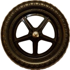 Strider Replacement Wheel: Ultralight, Black, Sold as Each