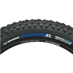 "Vee Rubber Snowshoe XL Studless Fat Bike Tire: 26 x 4.8"" 120tpi Folding Bead Silica Compound Black"