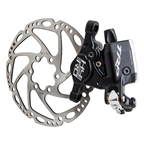 TRP HY/RD Cable-Actuated Hydraulic Disc Brake includes 140mm Rotor Black