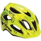 Lazer Nut'z Youth Helmet: Flash Yellow Skulls One Size