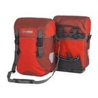 Ortlieb Sport-Packer Plus (pair) Signal Red-Chili