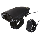 Hornit dB140 V2 Cycle Horn with Remote Trigger and Batteries: Black
