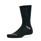Swiftwick Aspire Seven Sock: Black