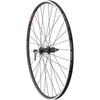Quality Wheels Road Rear Wheel 700c 32h Shimano 105 5800 / Velocity A23 / DT Champion All Black