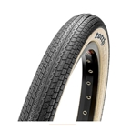 """Maxxis Torch BMX Tire 20 x 1.95"""", Dual Compound, Silkshield bead-to-bead puncture protection: Black / Skinwall"""