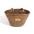 Nantucket Lightship Oval Bike Basket Stained
