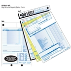 Walking Bird RP811-NI Big Repair Form with Services Listed: Pack of 250