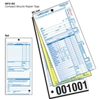 Walking Bird RP3-NI Compact Repair Form with Services Listed without Stub: Pack of 250