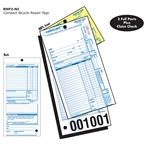 Walking Bird RNP2-NI Compact Repair Form without Services Listed with Stub: Pack of 250
