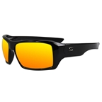 Serfas Auger Sunglasses Crystal Clear Black