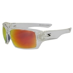 Serfas Auger Sunglasses Crystal Clear