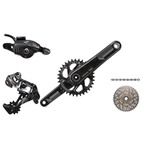 SRAM 2016 XX1 Kit-In-A-Box Trigger Shift BB30 175mm 168Q 32 Tooth Direct Mount Chainring, No Brakes, No Bottom Bracket
