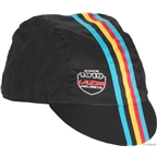 Lazer Cycling Cap, S/M Black Stripes