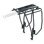 Topeak Uni Super Tourist Fat Rack: Black